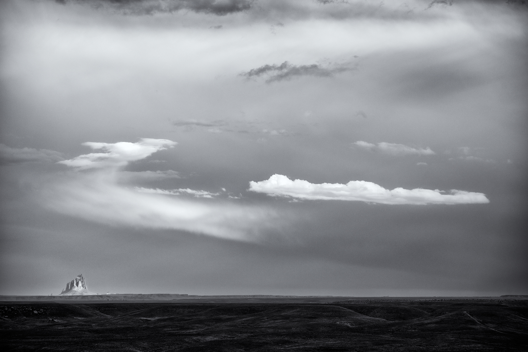 Shiprock Horizon. Navajo Nation, Arizona, 2016