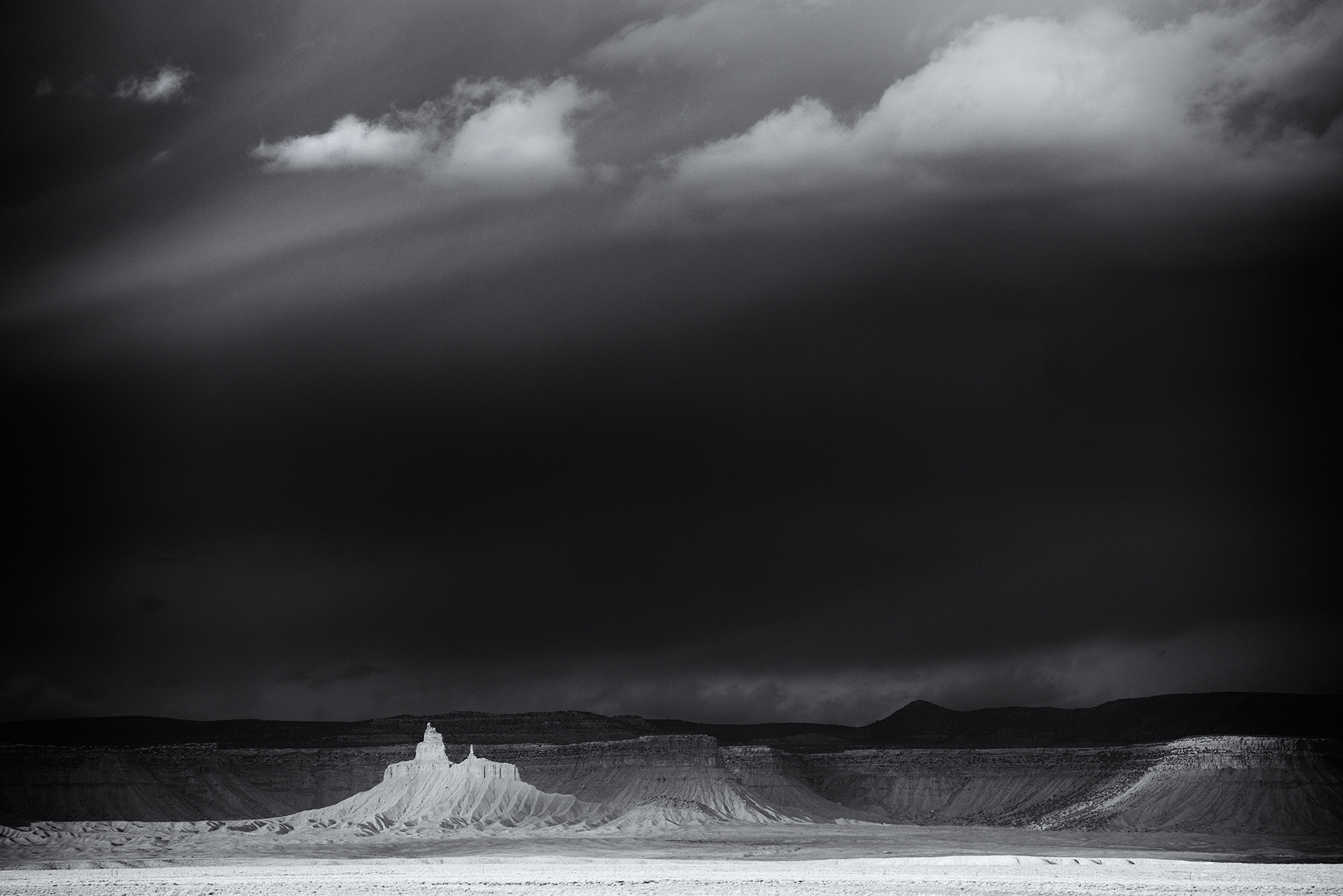 Storm Over West Ute Mesa. Near Cortez, Colorado, 2016