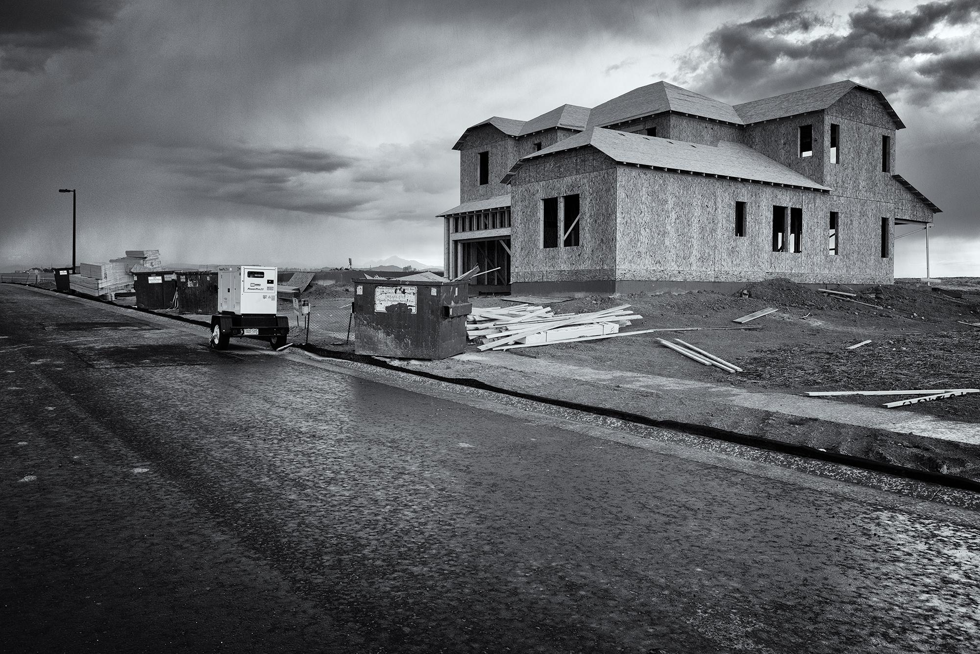 Storm on Quest Drive. Erie, Colorado, 2016