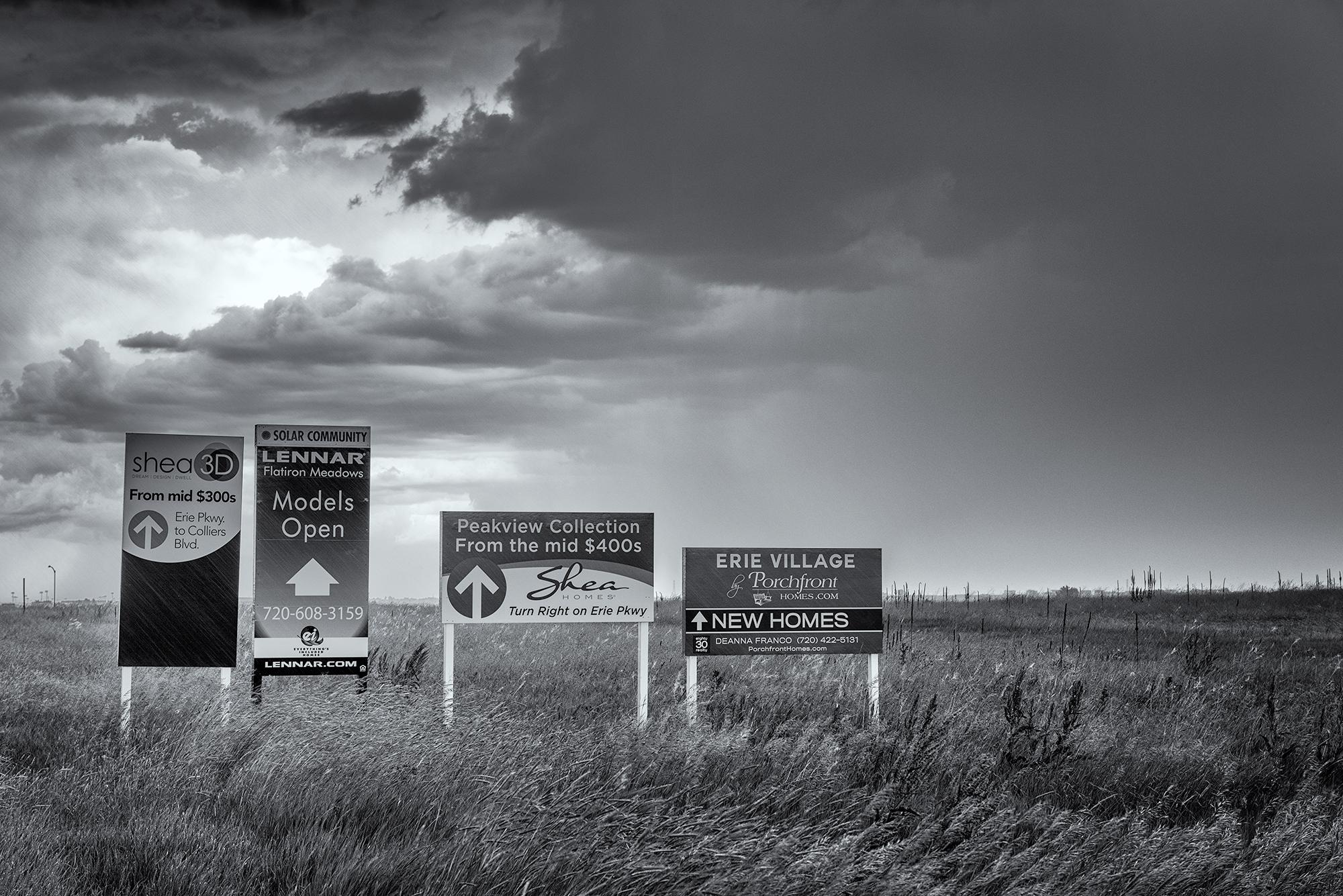 Prairie For Sale. Erie, Colorado, 2016