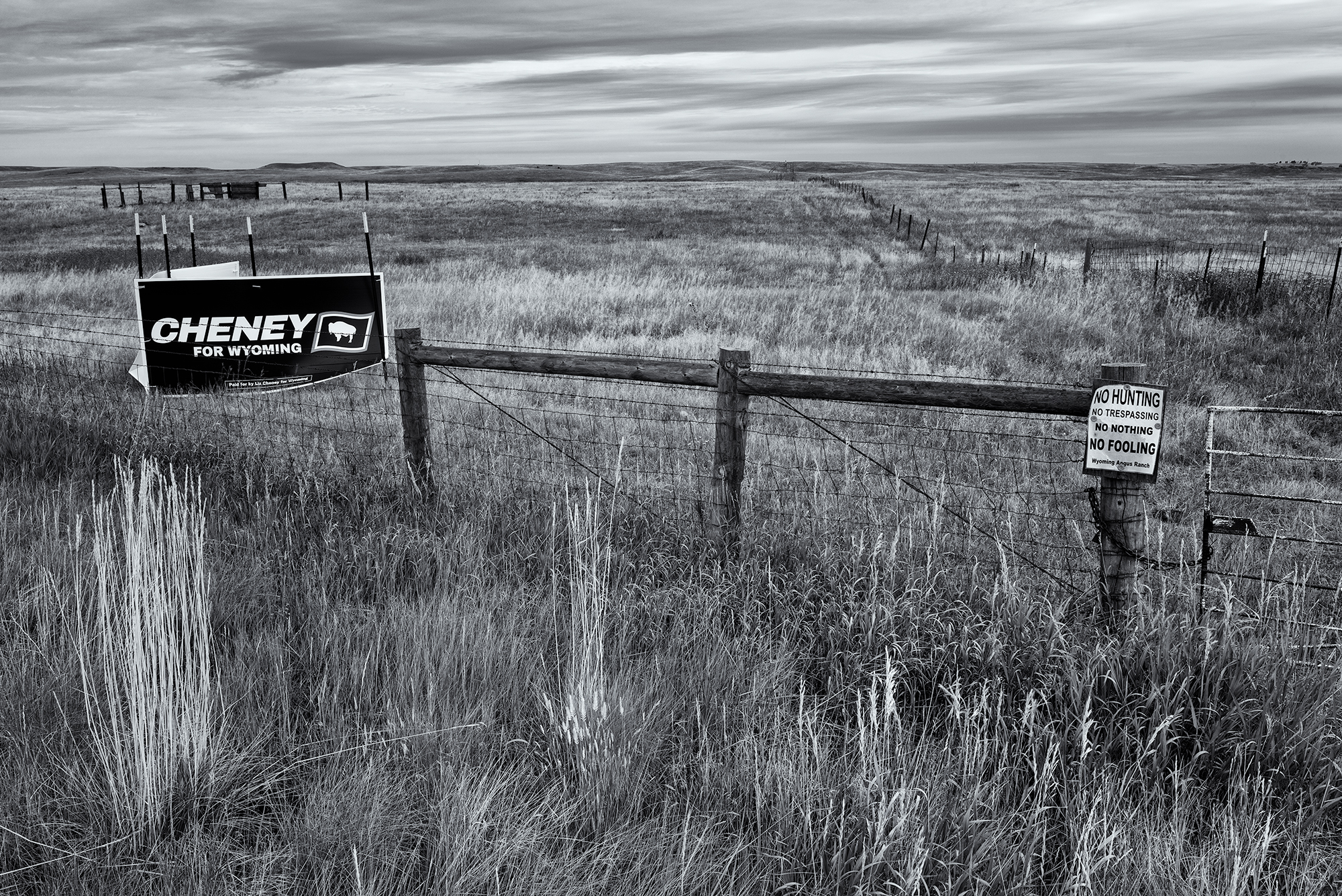 Cheney's Wyoming. Happy Jack Road, near Cheyenne, Wyoming, 2016