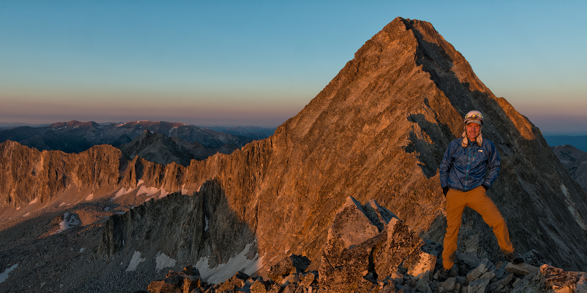 Sunrise Atop K2, #2. Capitol Peak, Colorado, 2016