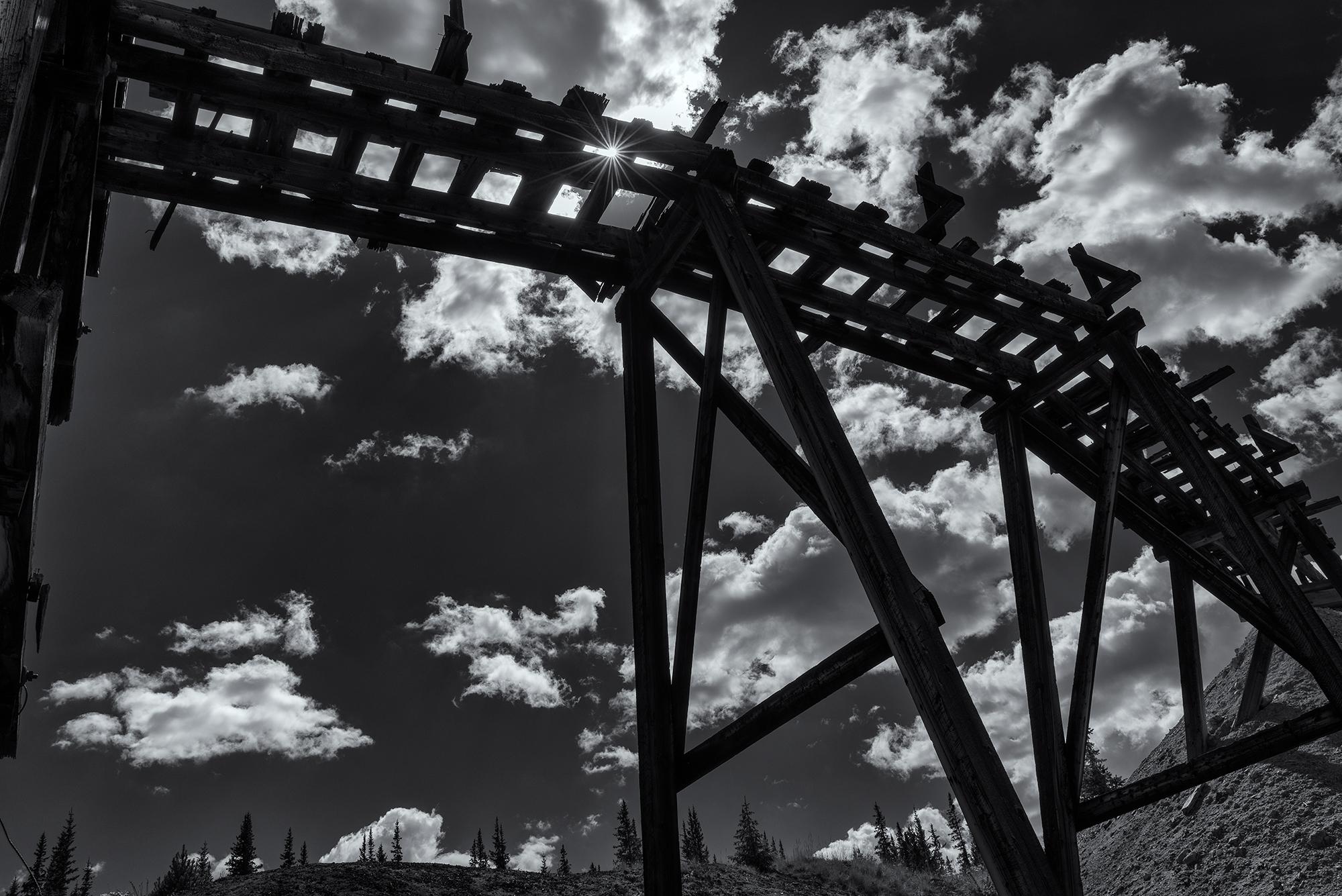 Mine Ruins, #4. Leadville, Colorado, 2016