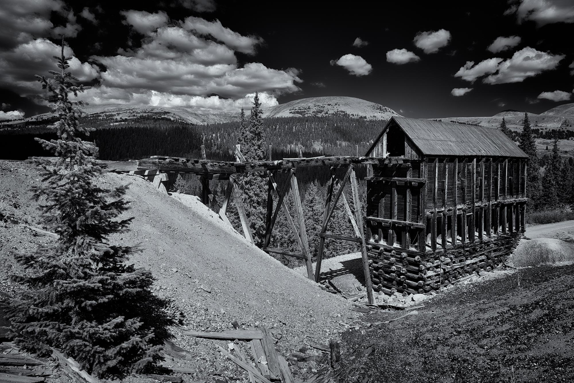 Mine Ruins, #5. Leadville, Colorado, 2016