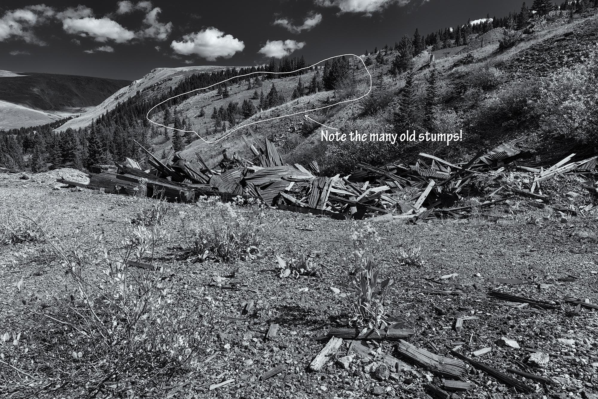Mine Ruins, #6. Leadville, Colorado, 2016