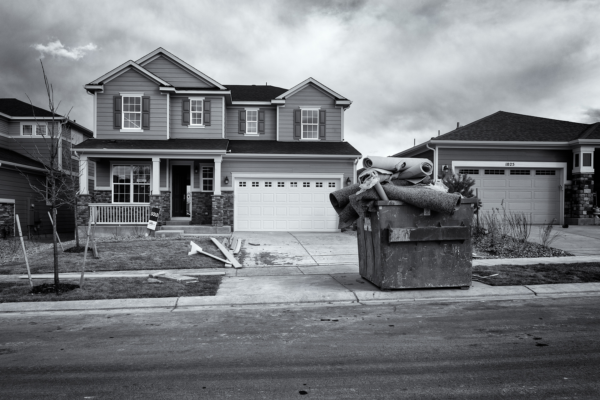 Nearly Ready at 1029 Rosebud Circle. Near Longmont, Colorado, 2016