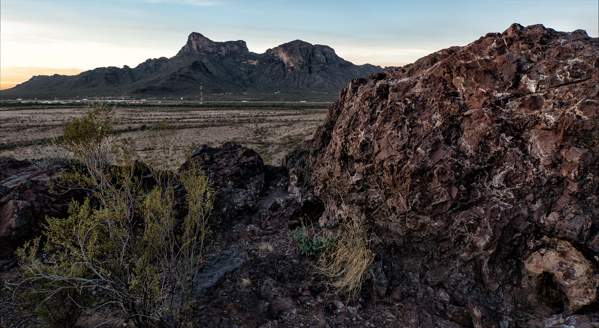 Picacho Peak View. Picacho Peak, Arizona, 2016