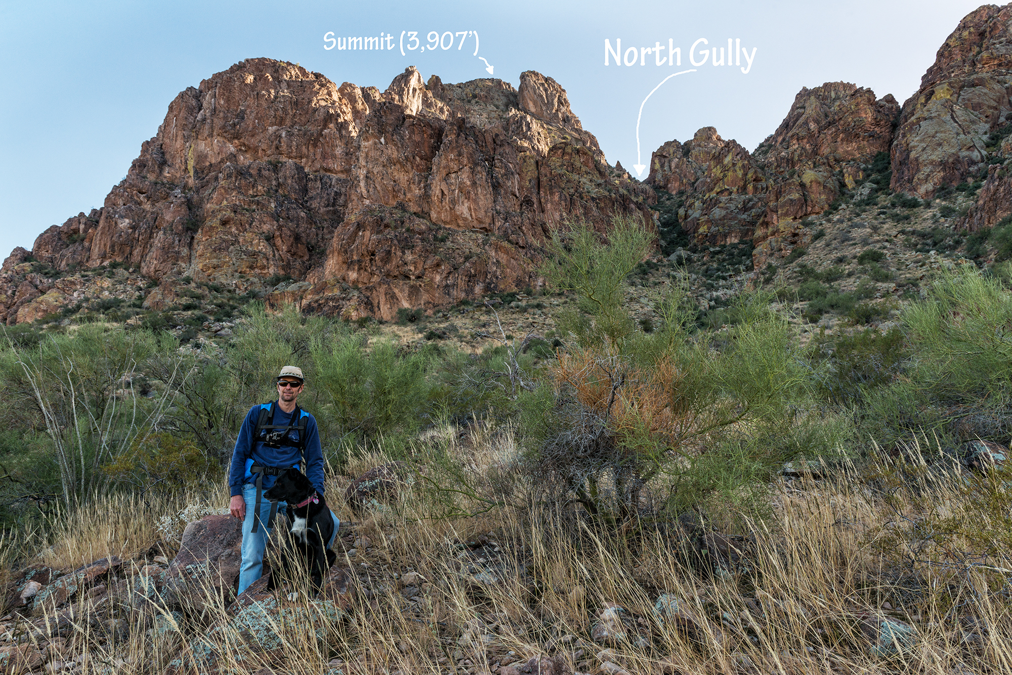 North Gully Beta. Ragged Top, Arizona, 2016