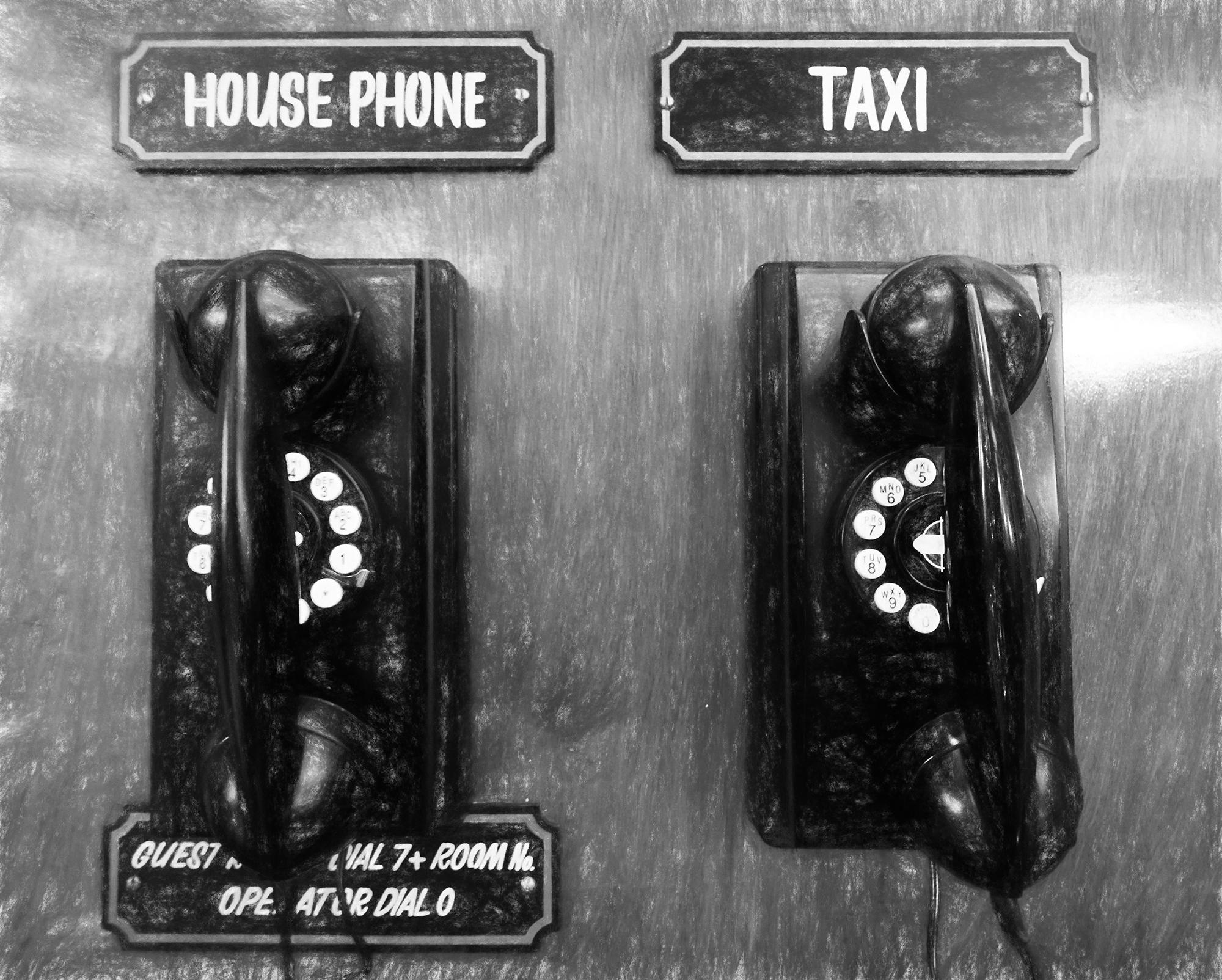 Dial Telephones. Hotel Boulderado, Boulder, Colorado, 2016