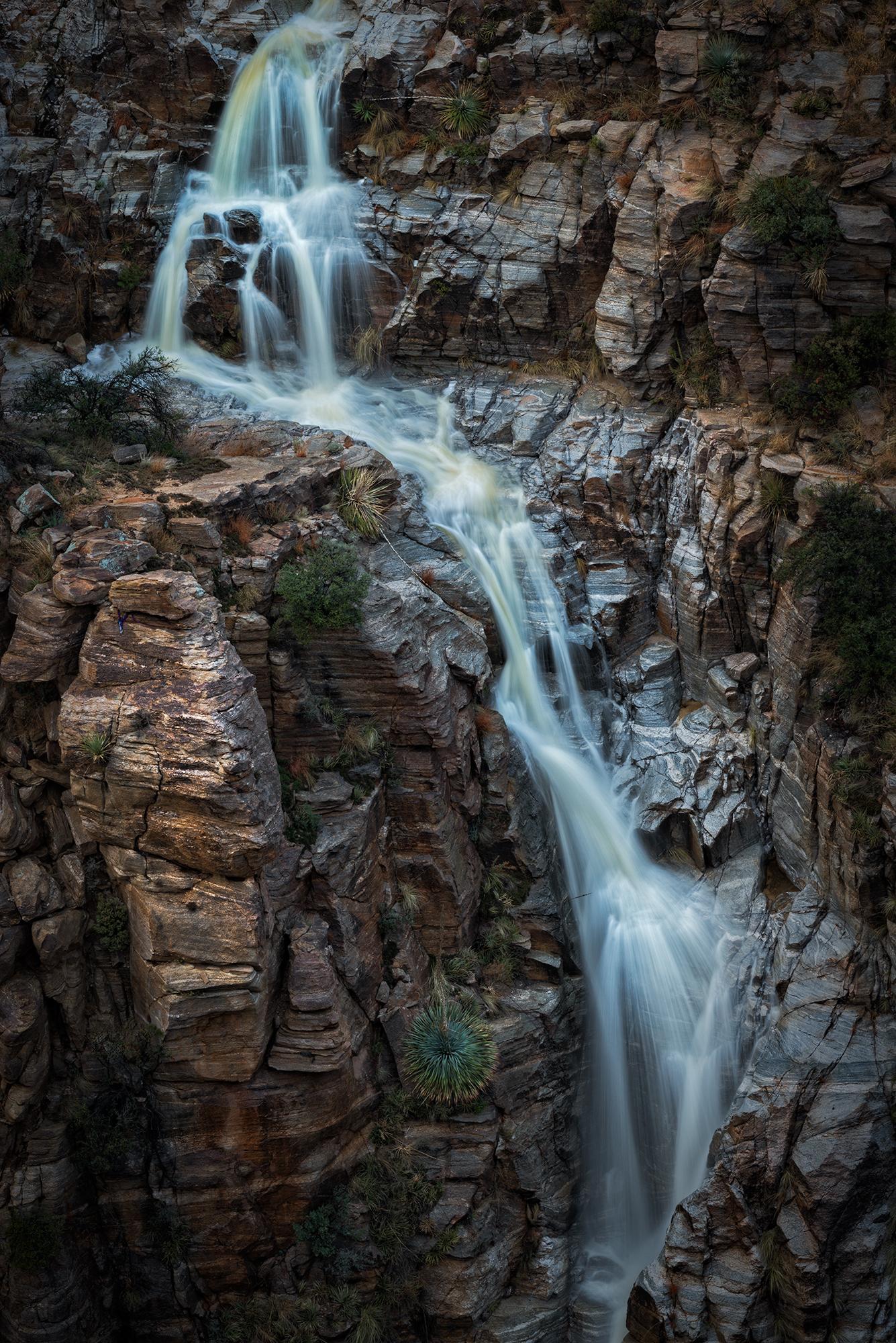 Seven Falls, #7. Santa Catalina Mountains, Arizona, 2017