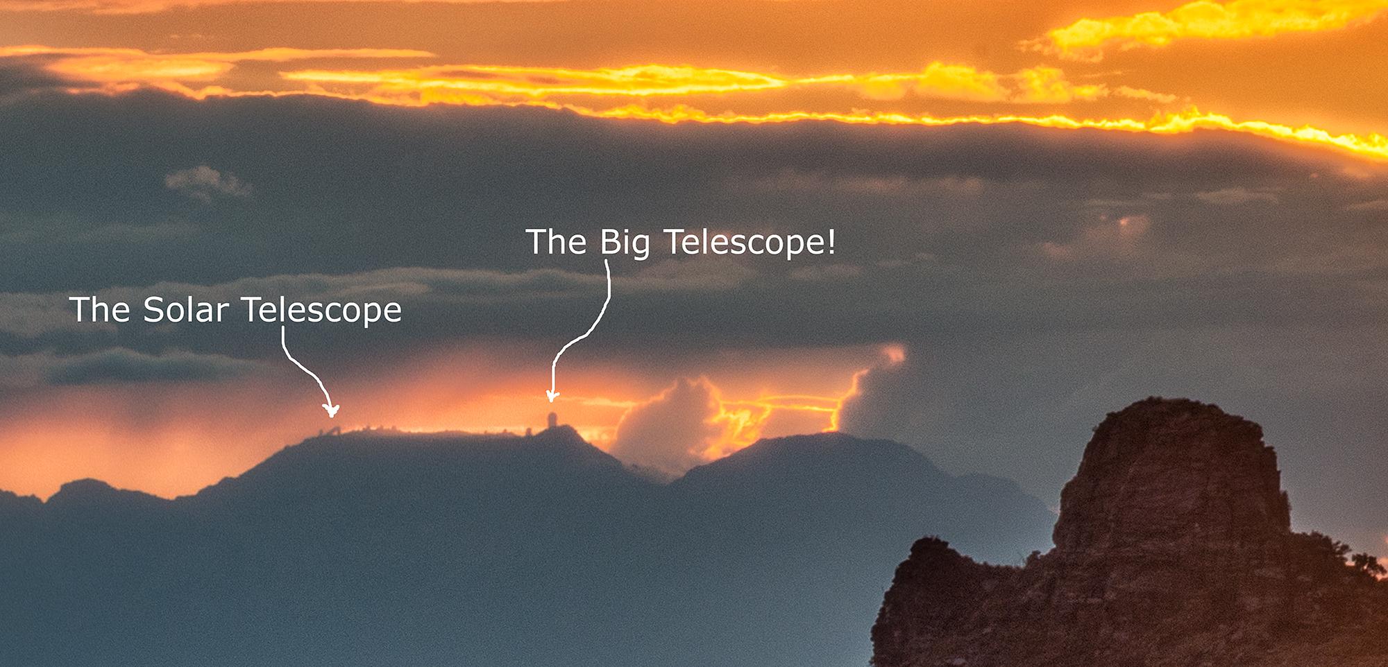 Observatories - Labelled, #2. Tucson, Arizona, 2017