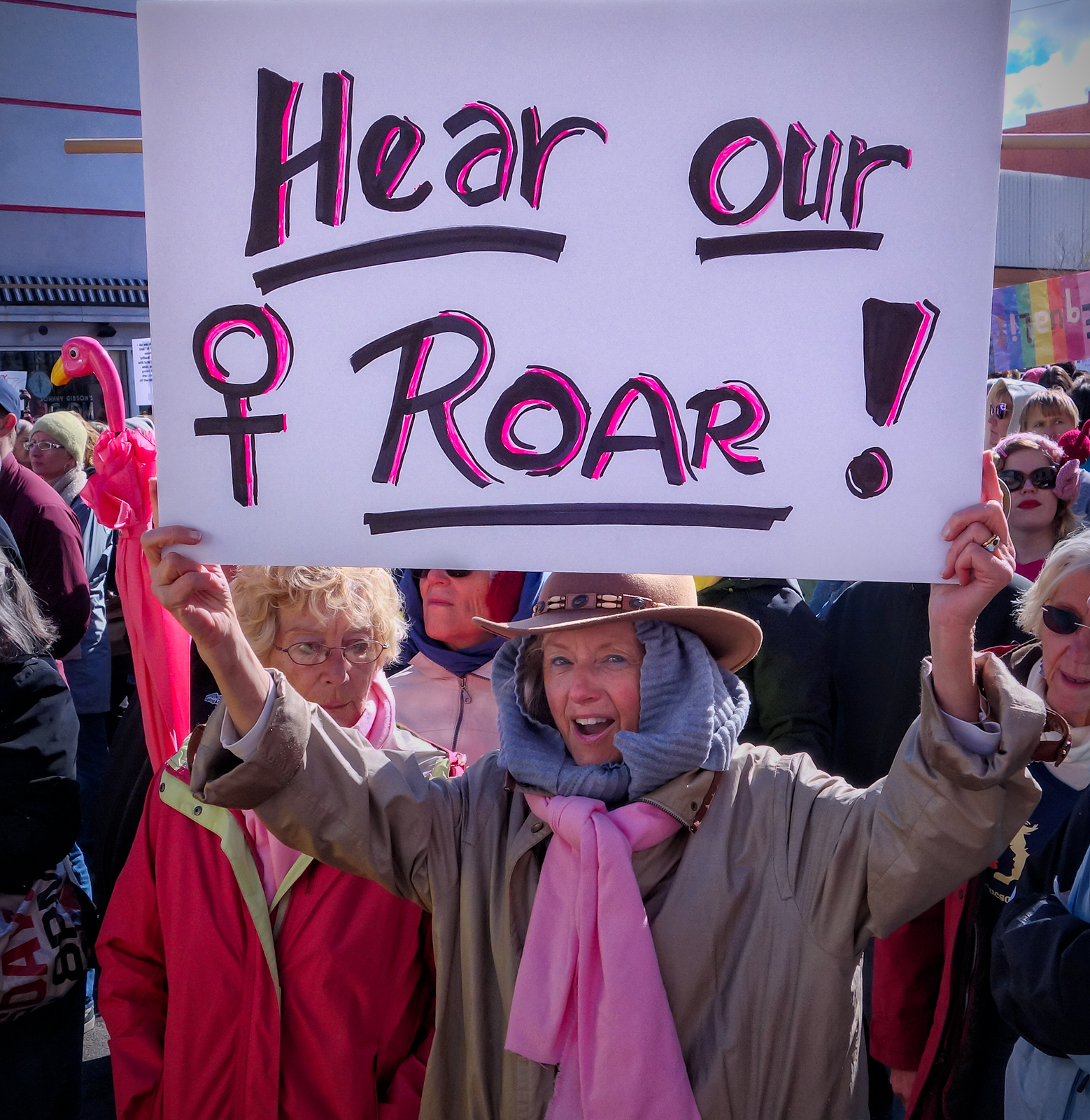 Women's March, #26. Tucson, Arizona, 2017