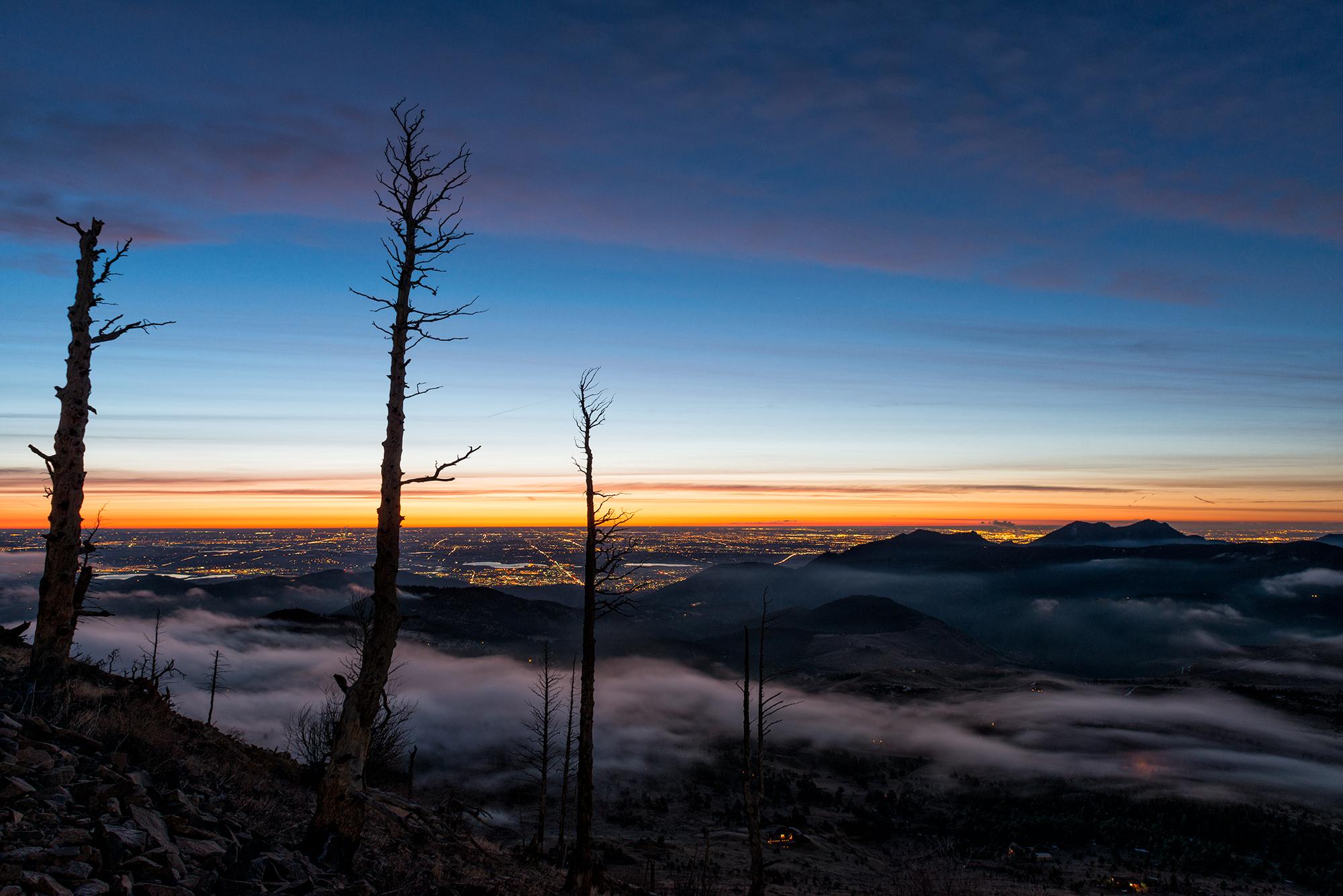 Sugarloaf, #1. Sugarloaf Mountain, Colorado, 2017