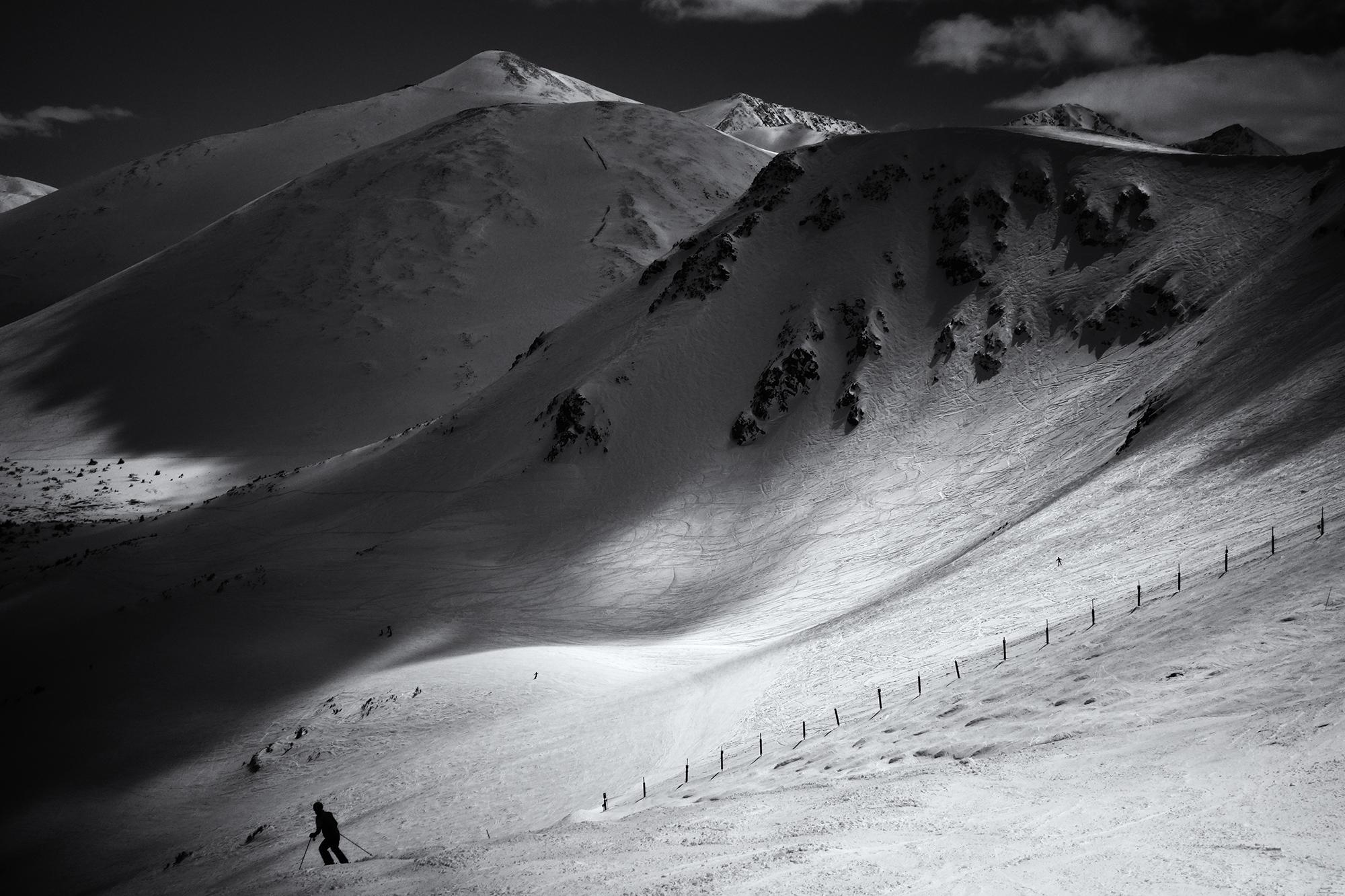 A Skier's Landscape. Breckenridge, Colorado, 2017