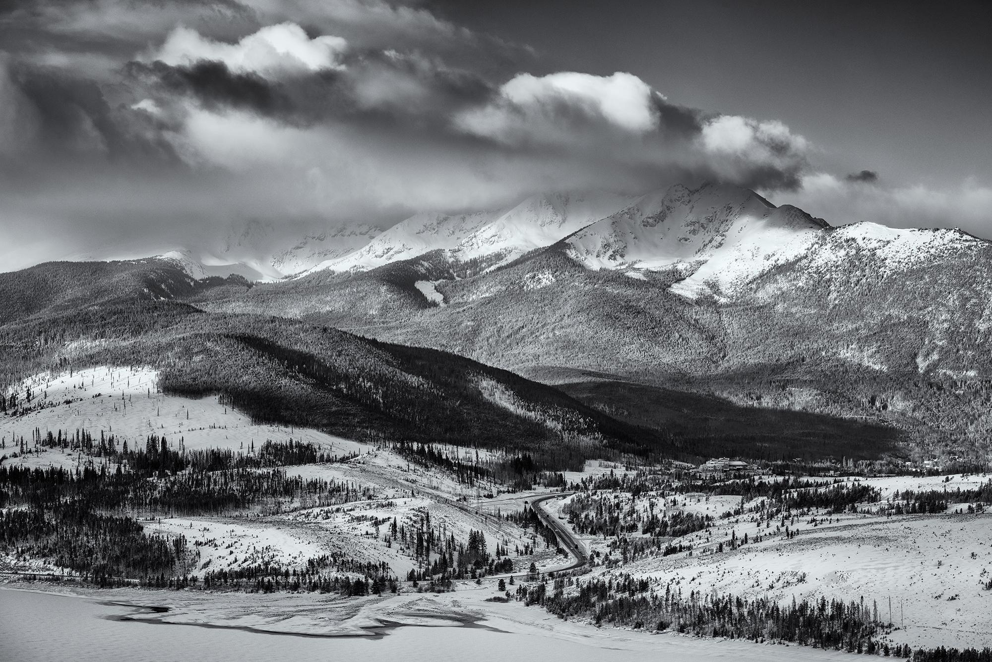 Tenmile Range in Cloud. Near Frisco, Colorado, 2017