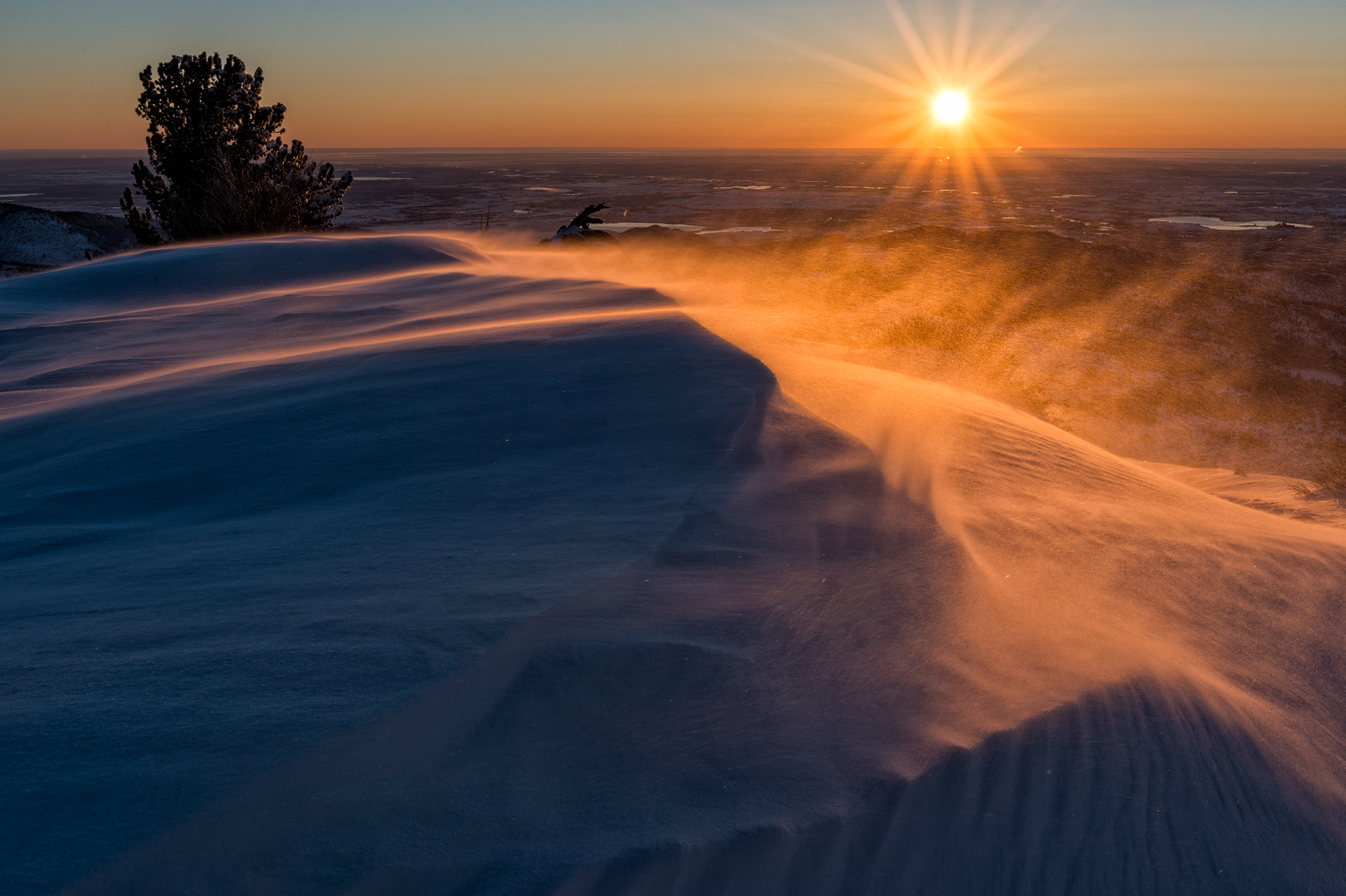 Sugarloaf, April Snow, #5. Sugarloaf Mountain, Colorado, 2017
