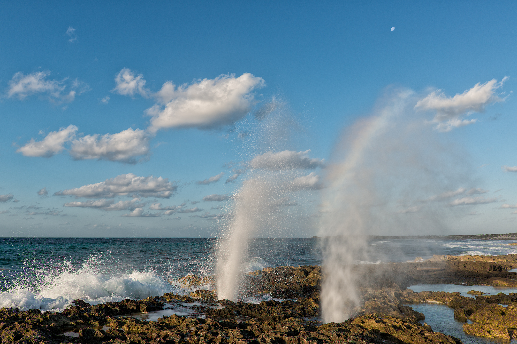 Blow Holes, #2. Cozumel, Mexico, 2017