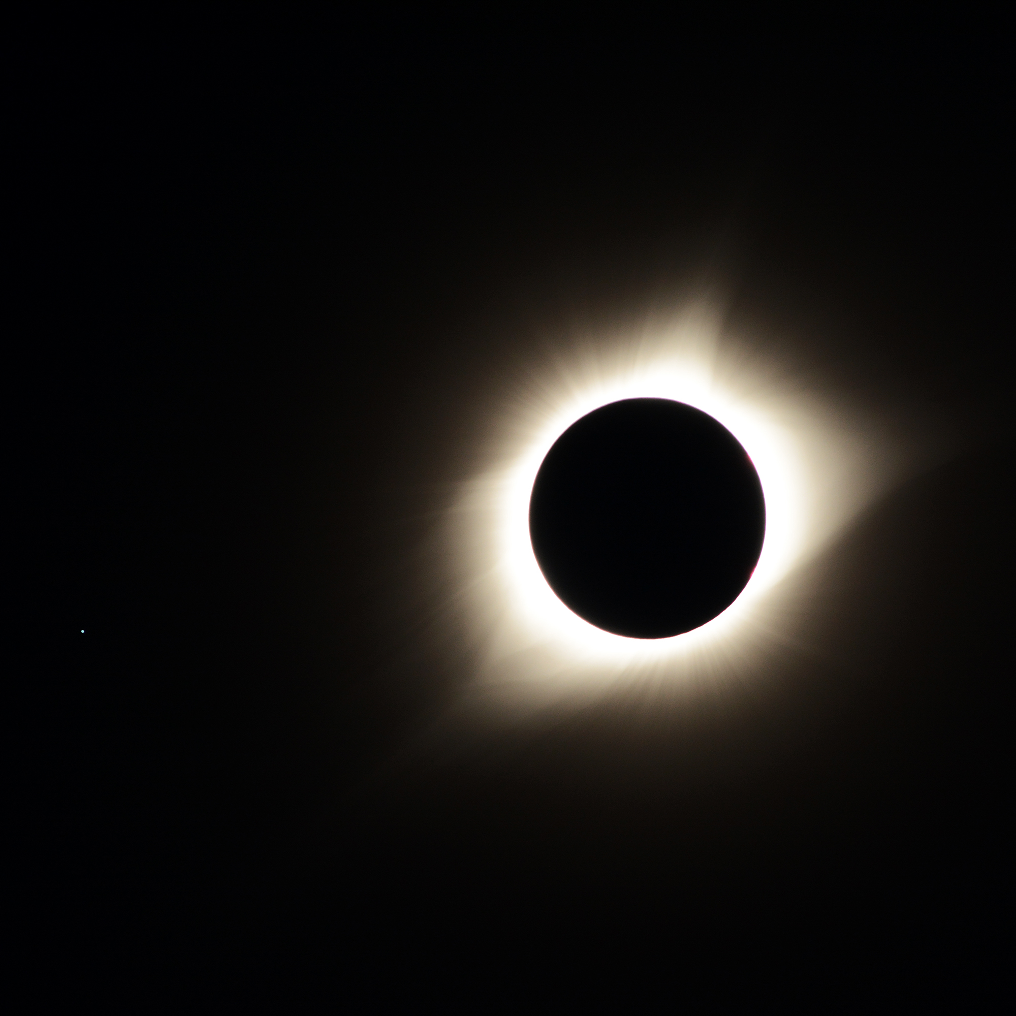 Total Solar Eclipse, #1. Glendo State Park, Wyoming, 2017