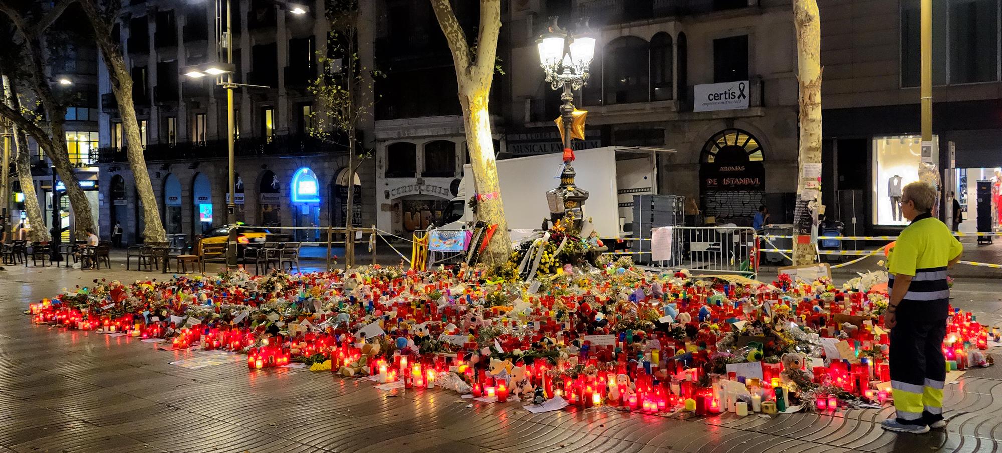 Las Ramblas, #1. Barcelona, 2017