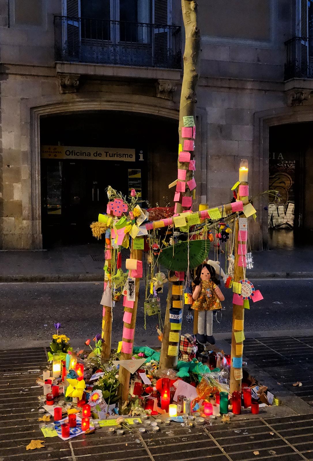 Las Ramblas, #3. Barcelona, 2017