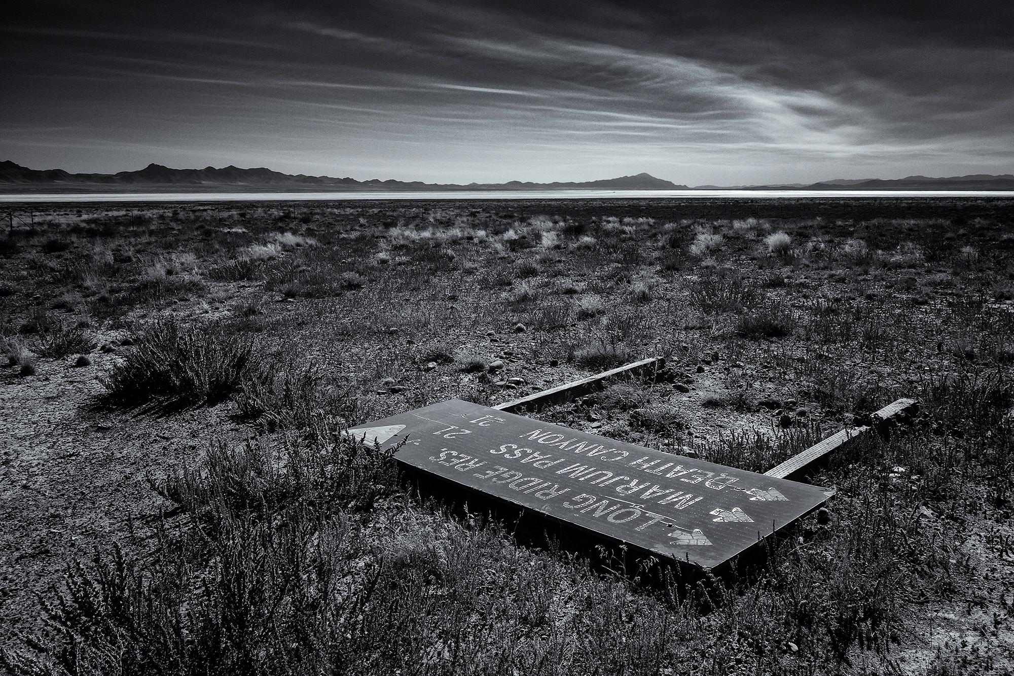 Nevada Basin and Range, #1, Highway 50, Nevada, 2017