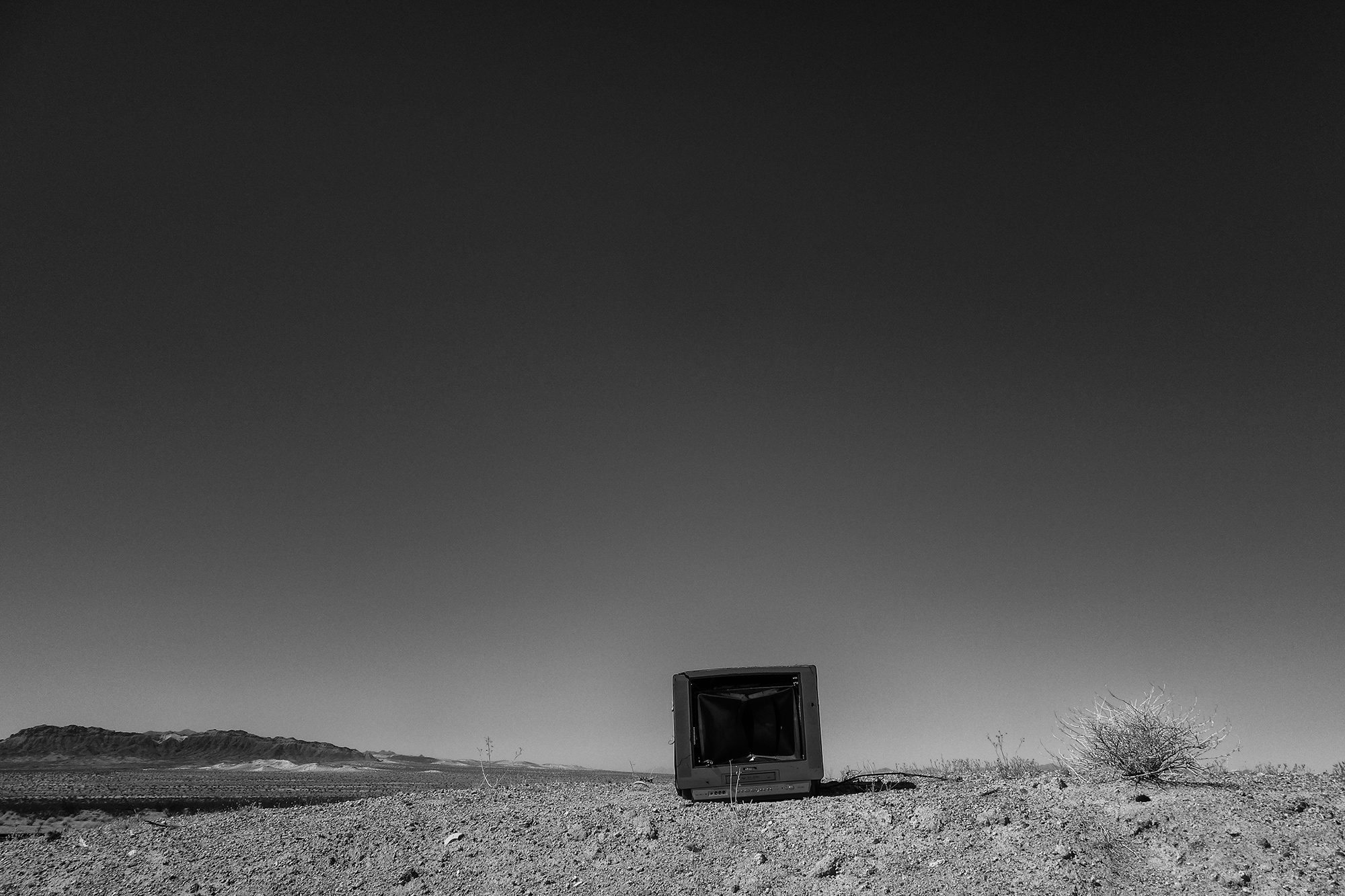 Television, #1. Mohave Desert, 2017
