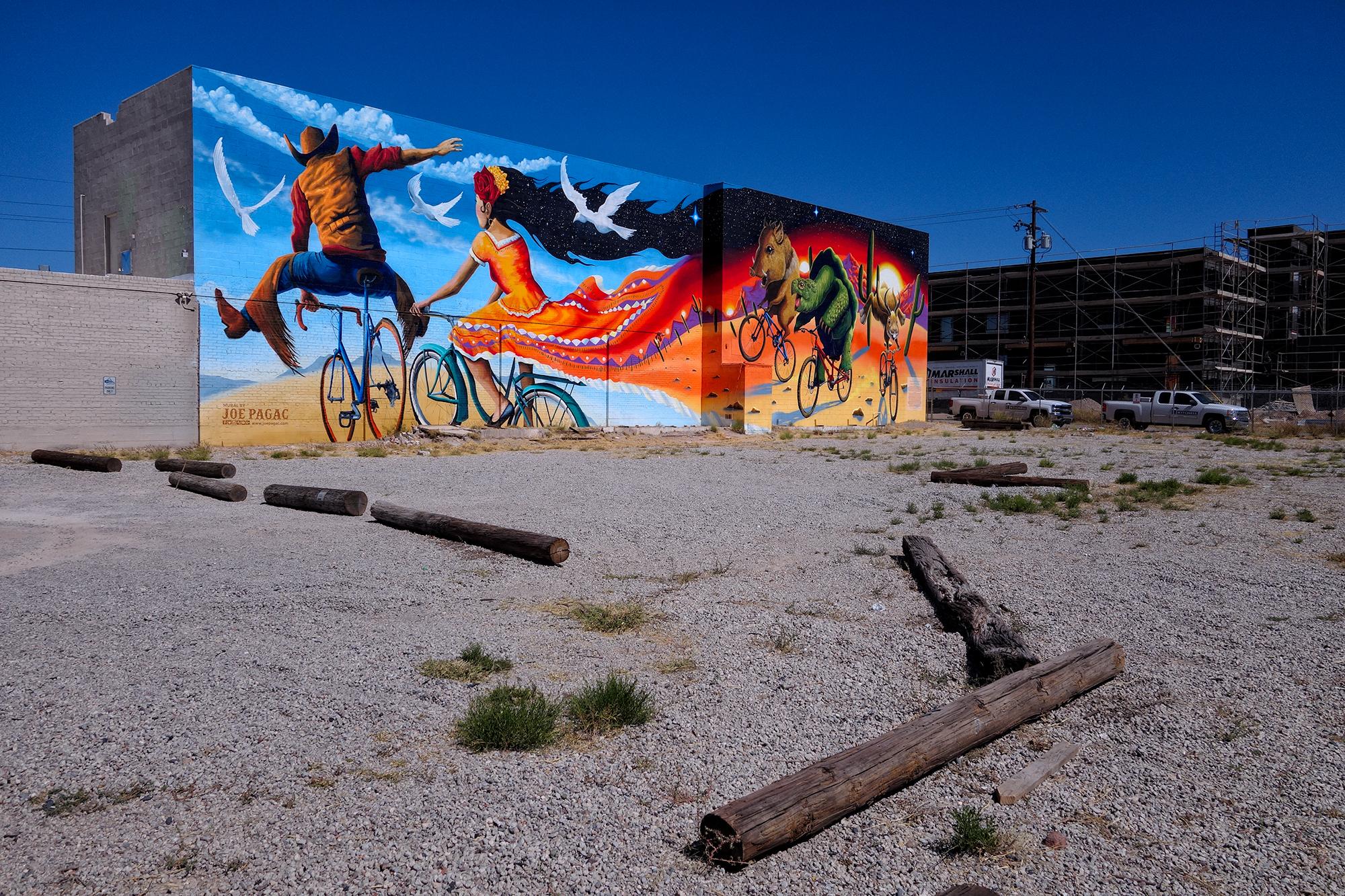Tucson Mural Walk, #1. Tucson, Arizona, 2017