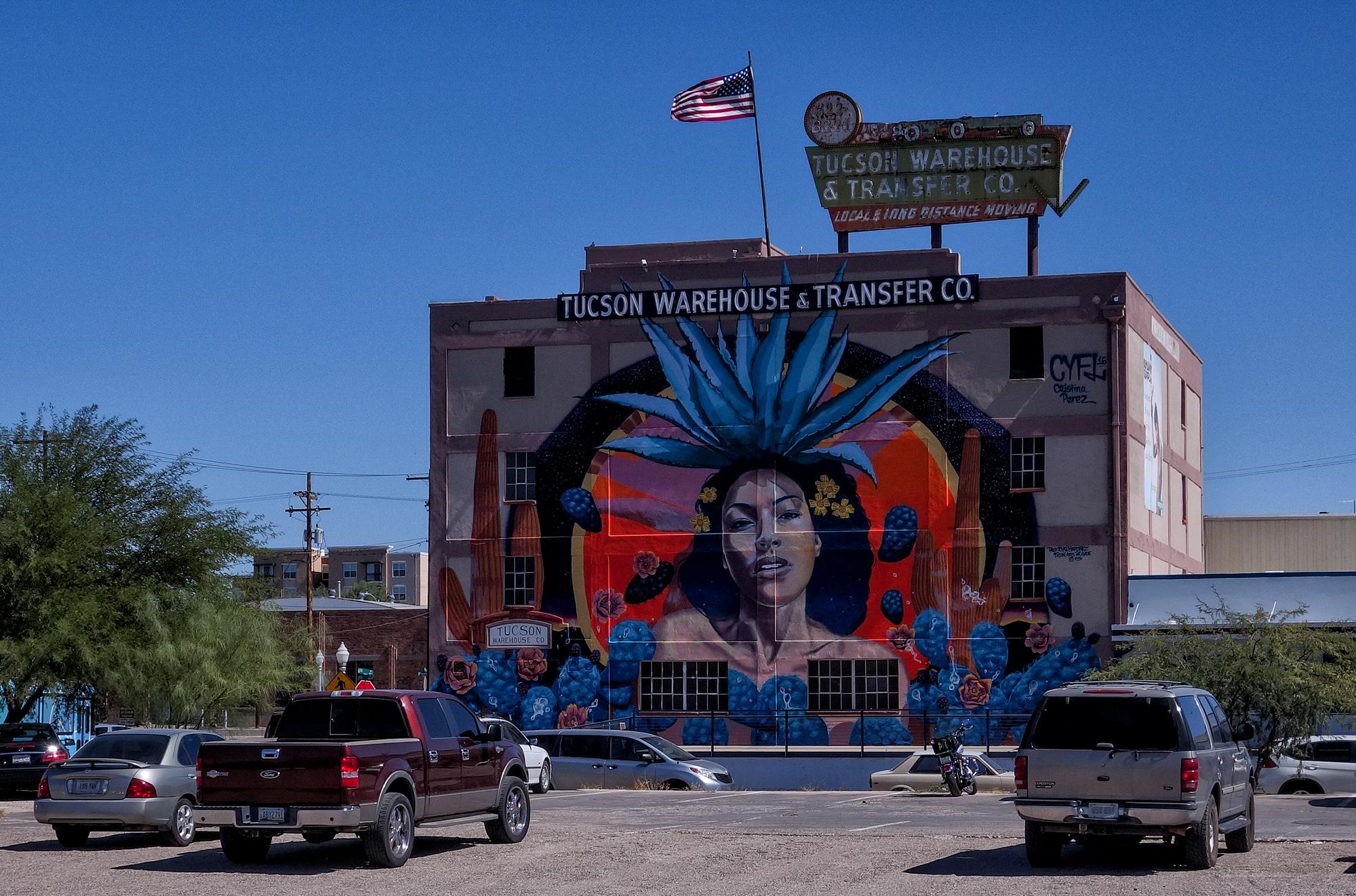 Tucson Mural Walk, #2. Tucson, Arizona, 2017