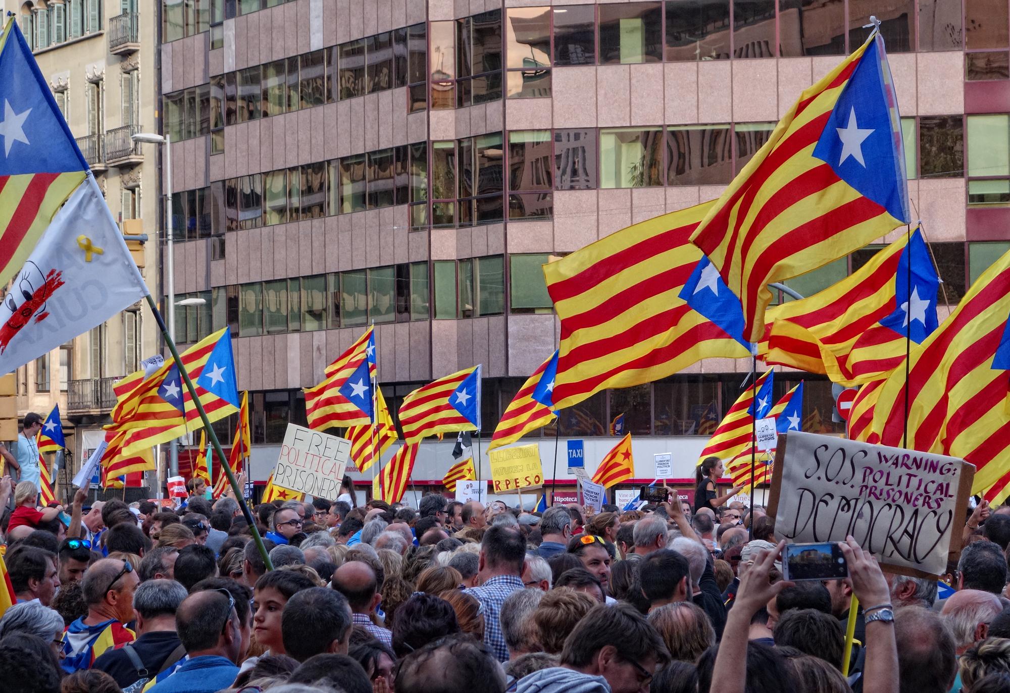 Manifestacion, #1, Barcelona, Catalunya, Espanya, 2017