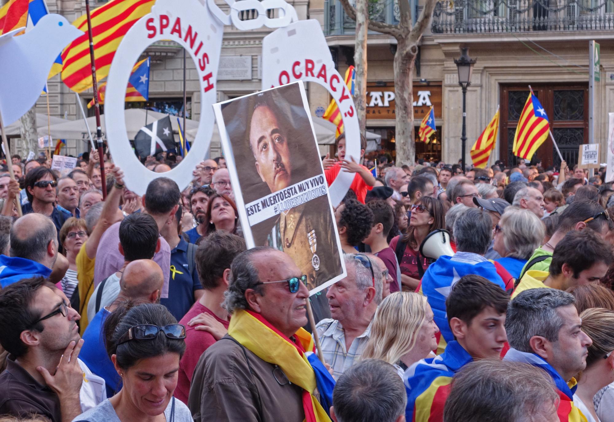 Manifestació, #6. Barcelona, Catalunya, Espanya