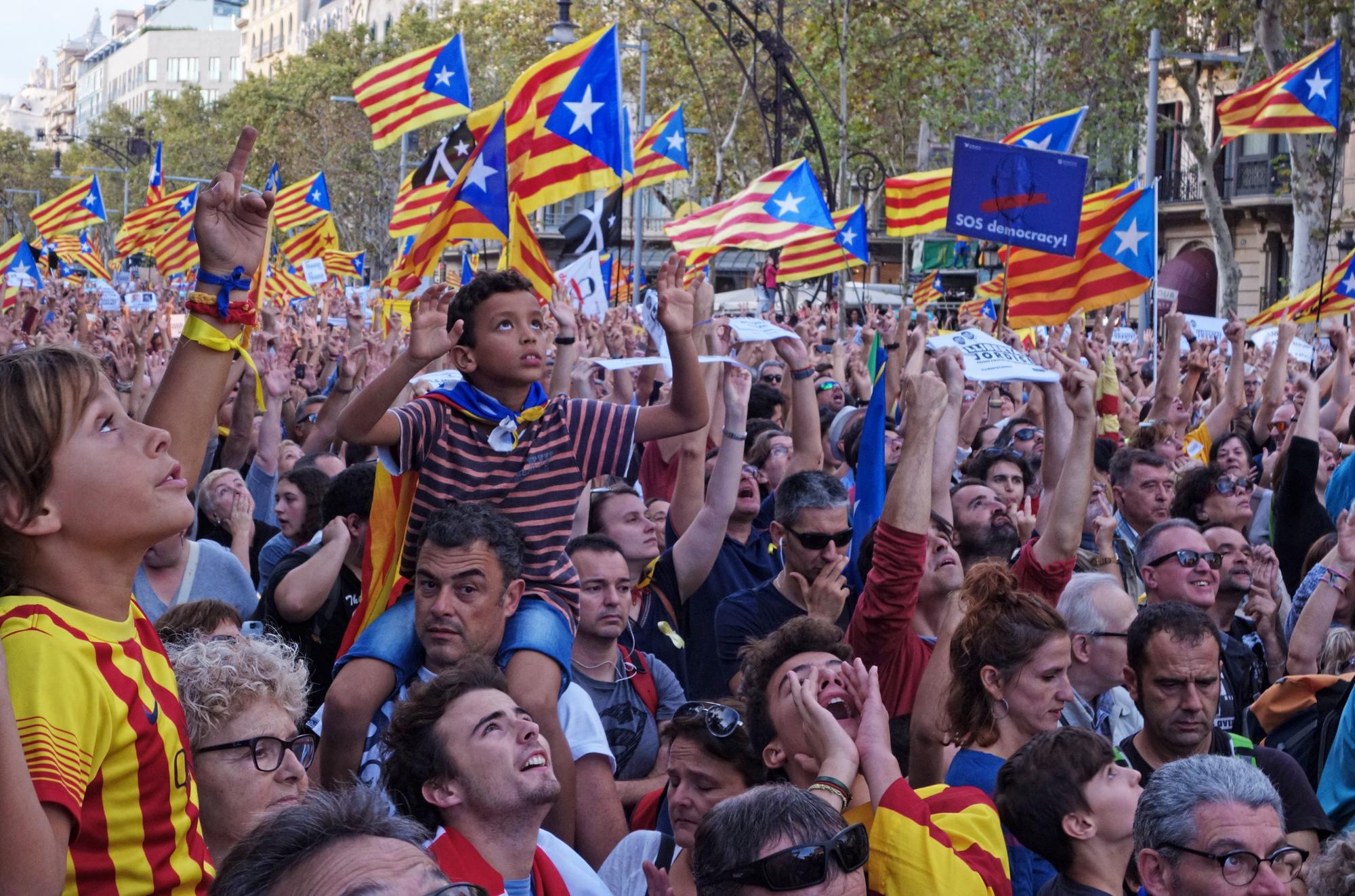 Manifestació, #8. Barcelona, Catalunya, Espanya