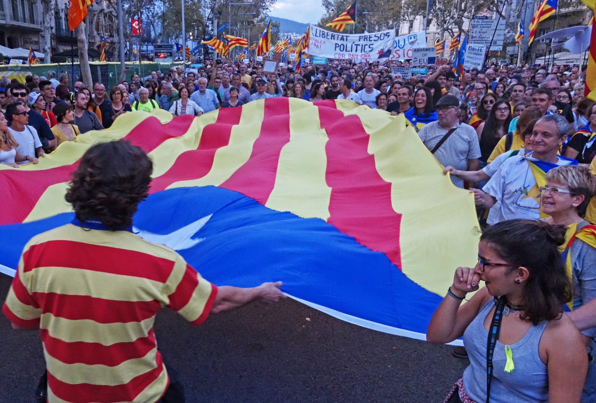 Manifestació, #9. Barcelona, Catalunya, Espanya