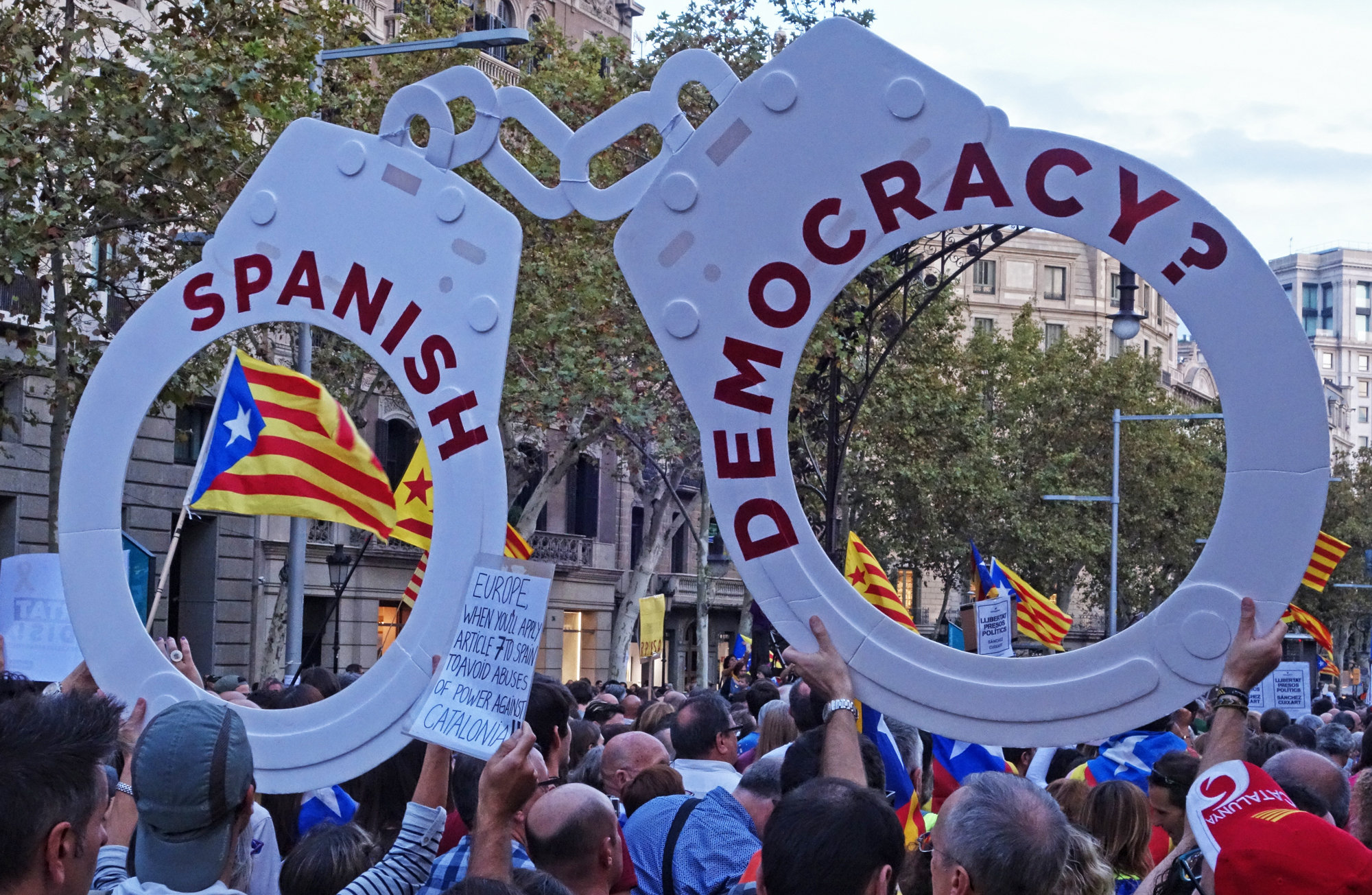 Manifestació, #10. Barcelona, Catalunya, Espanya