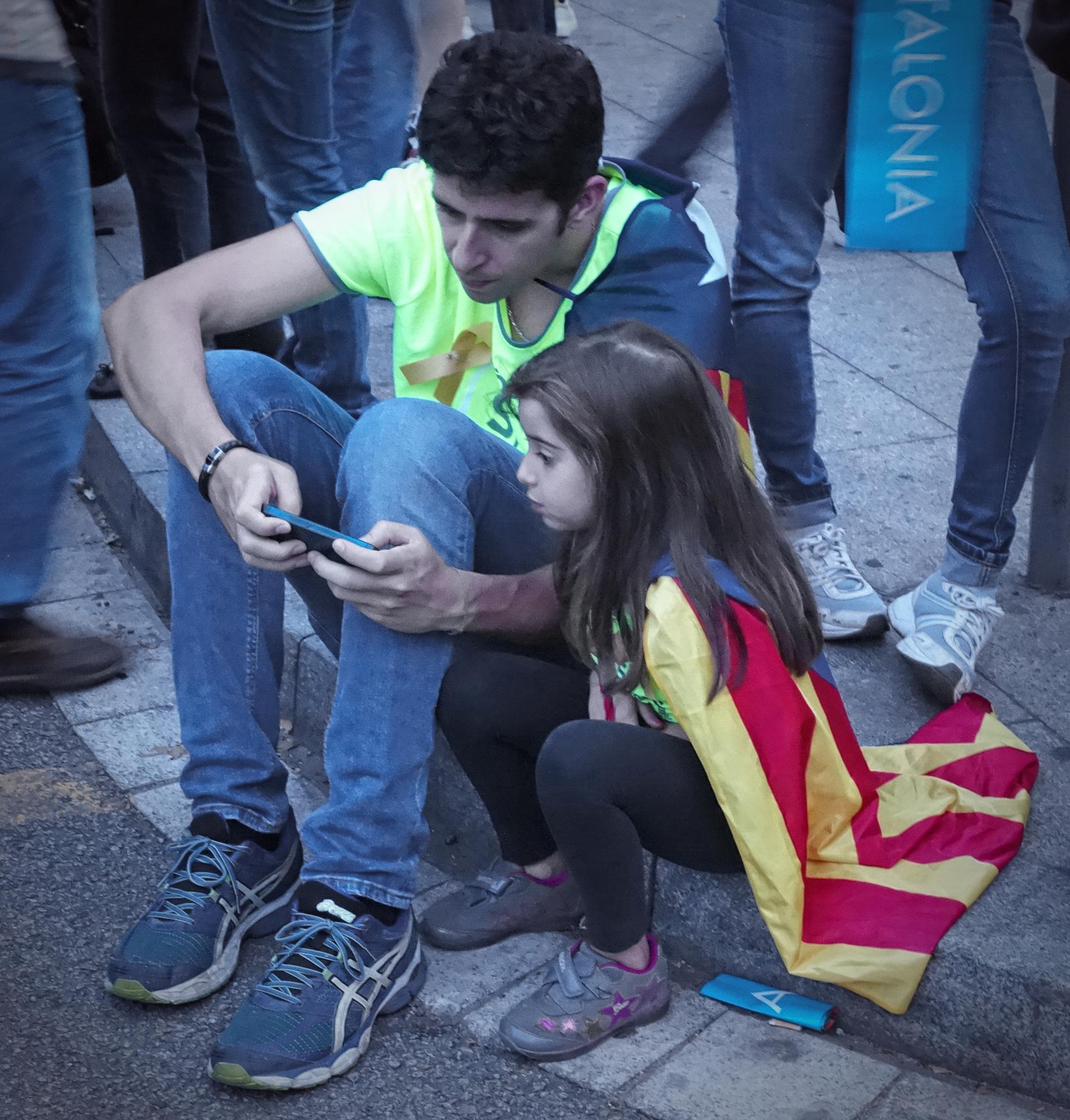 Manifestació, #12. Barcelona, Catalunya, Espanya