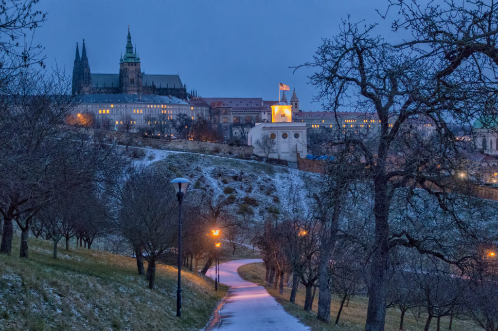 Prague, #46, the Castle and the American Embassy, Czech Republic, 2017