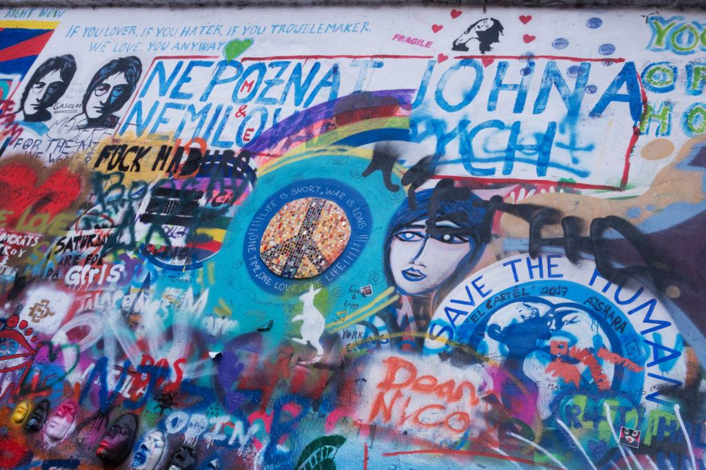 Prague, #47, Lennon Wall, Czech Republic, 2017
