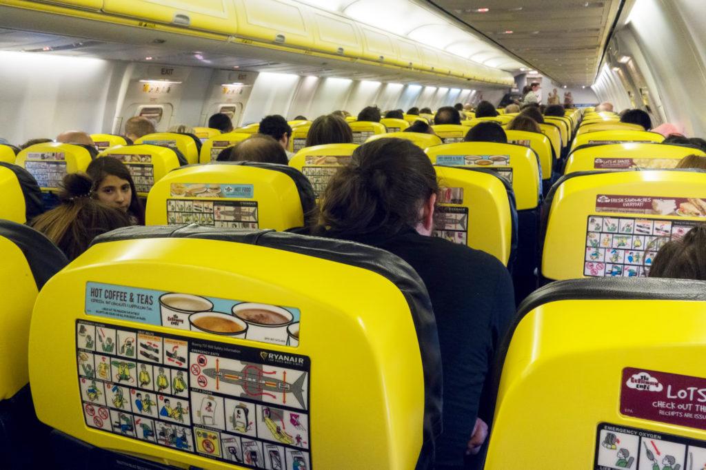 Ryan Air, #2, Prague-Barcelona, 2017