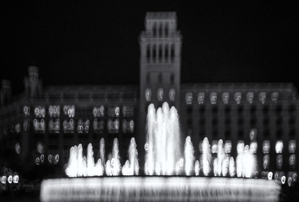 Plaça Catalunya, Barcelona, 2018